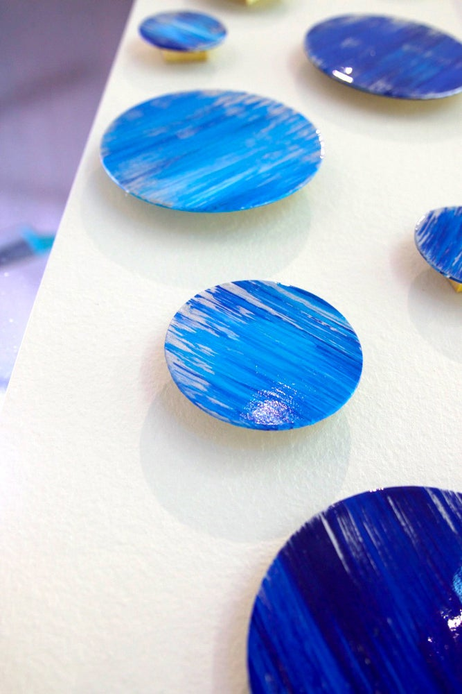 Image of 'OCEAN IN MOTION'   Wood Art   Modern Abstract Art   Wood Wall Sculpture   Original Blue Wall Art