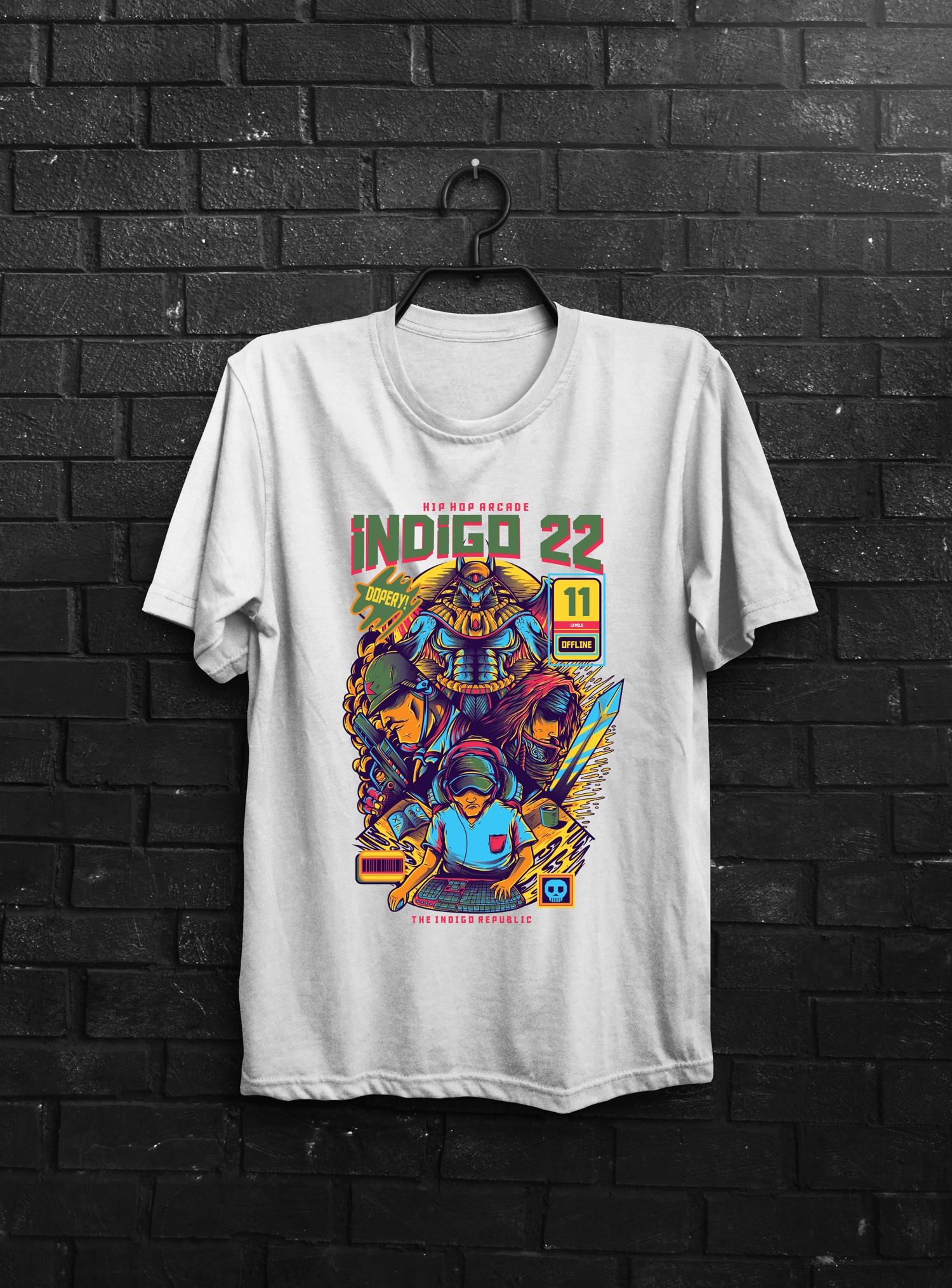 Image of Indigo 22 Arcade Shirt