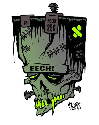 Image of EECH - STICKER