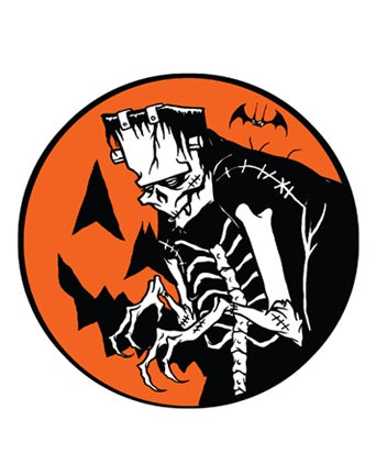 Image of PUMPKIN FRANK - STICKER