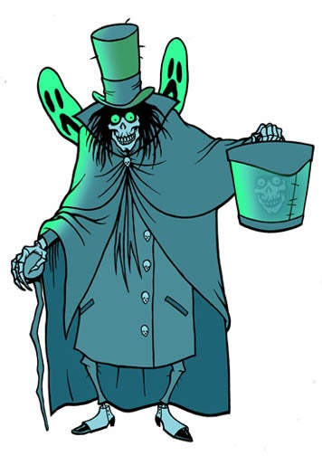 Image of HATBOX GHOST - STICKER
