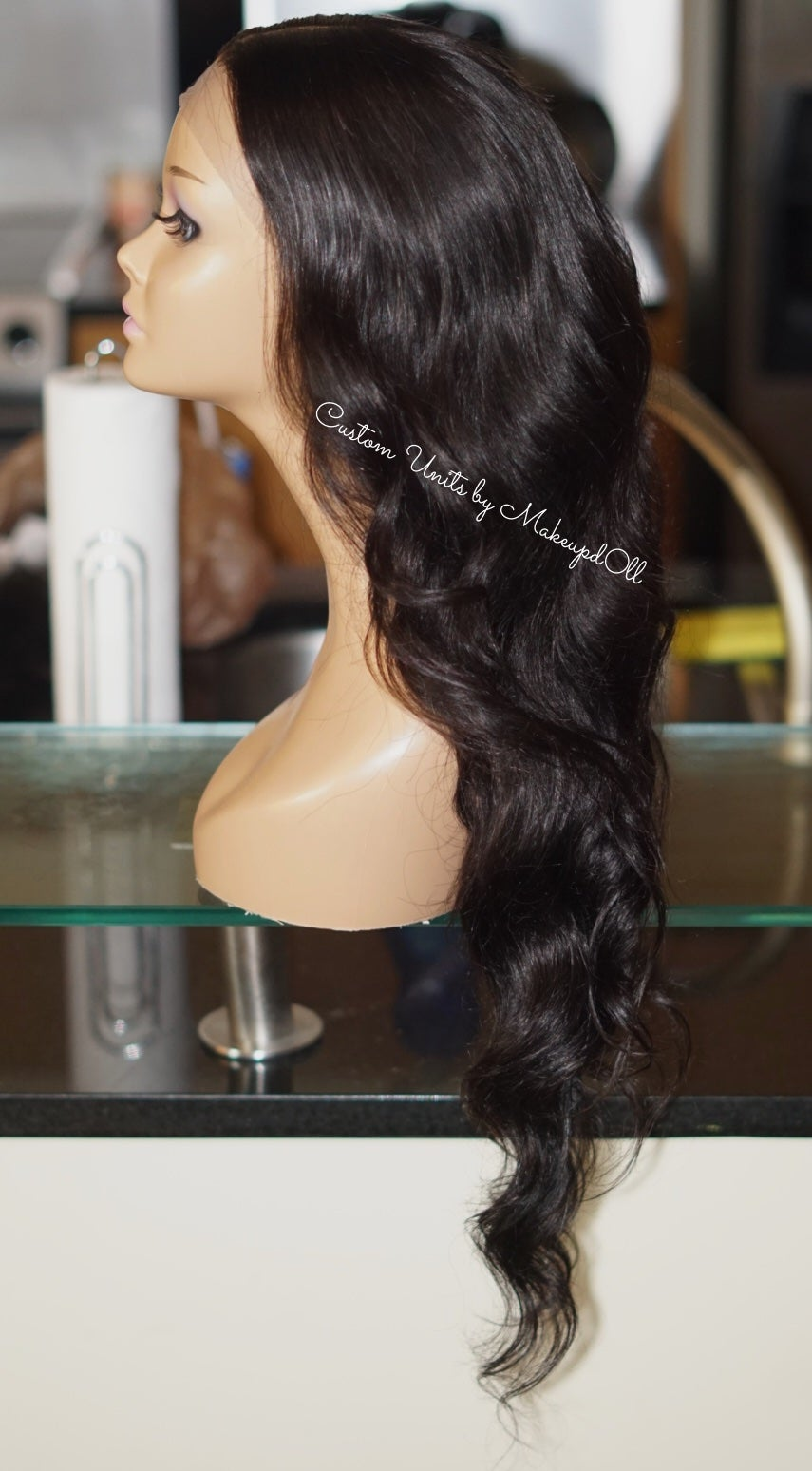 "Image of Brazilian Body Wave 26"" Custom Frontal Wig!"