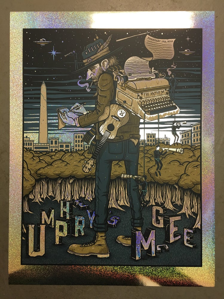 Image of Umphrey's McGee - February 15th, 2018 - The Anthem - Sparkle Foil Variant