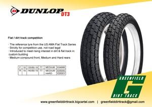 Image of Dunlop DT3 130/80- 19 F5 Medium