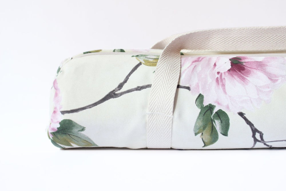 Image of Big Flower 🌸 Yoga Bag