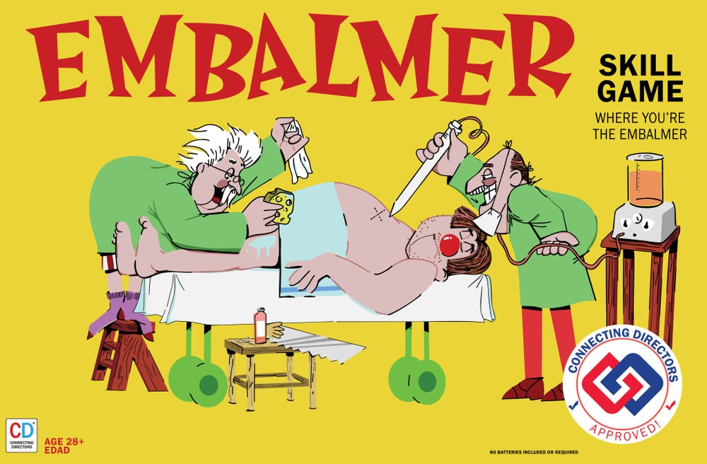 Image of Embalmer Poster