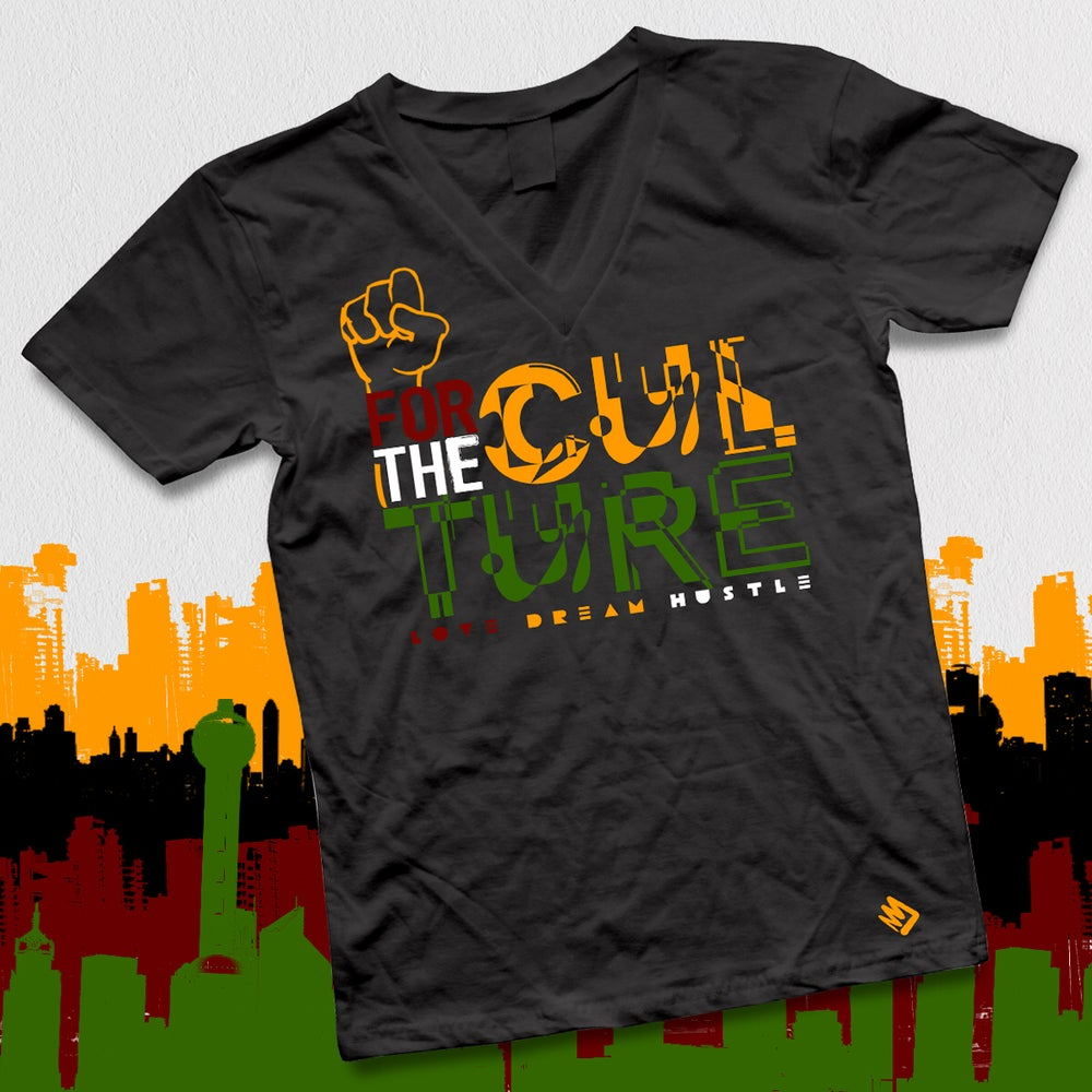 Image of FOR THE CULTURE V-TEE