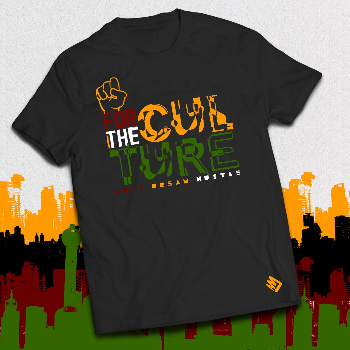 Image of FOR THE CULTURE UNISEX CREW TEE