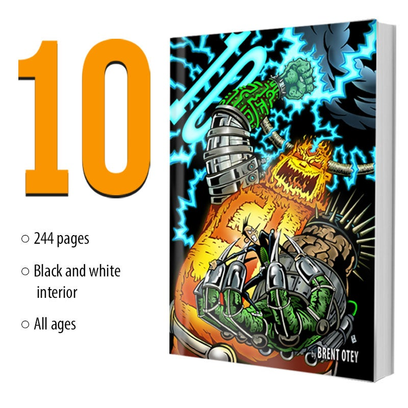 Image of 10 - the graphic novel