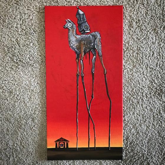 Image of The Dalí Llama.