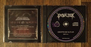 Image of Crypts Of Satan (2016) CD