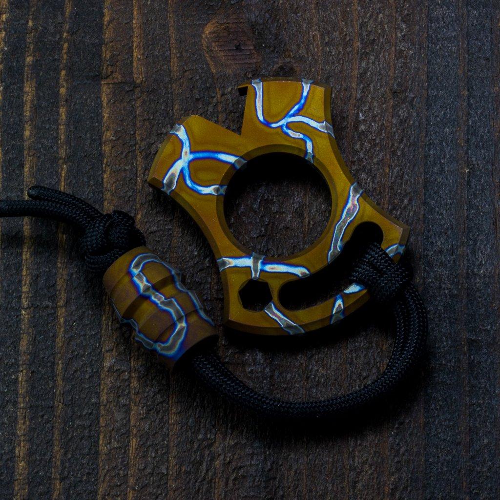 Image of Slim VonKnuck & Raptor bead Combo Snail Trail #1