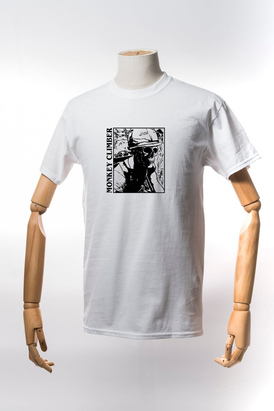 Image of Monkey Climber Soldier G shirt I White