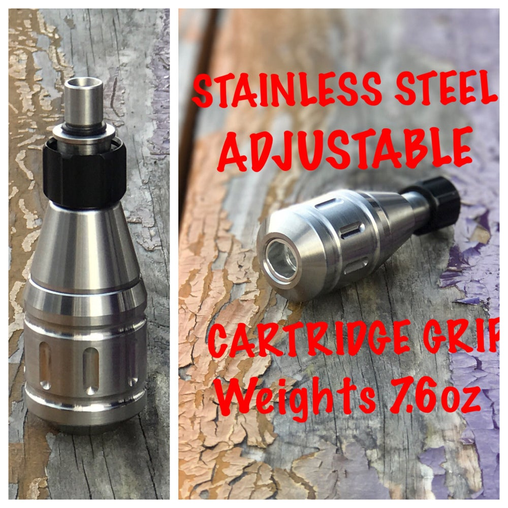 Image of Stainless steel adjustable cartridge grip