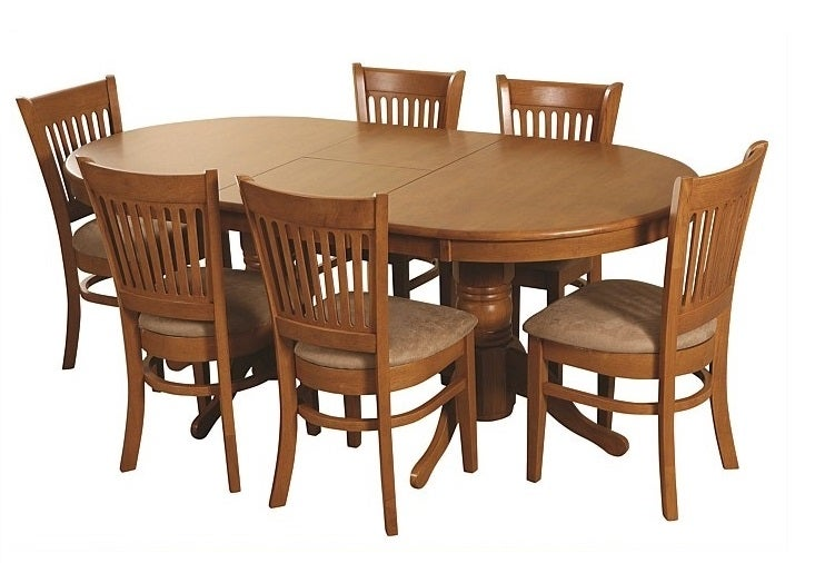 Vancouver Extension Dining Suite Valley Furniture