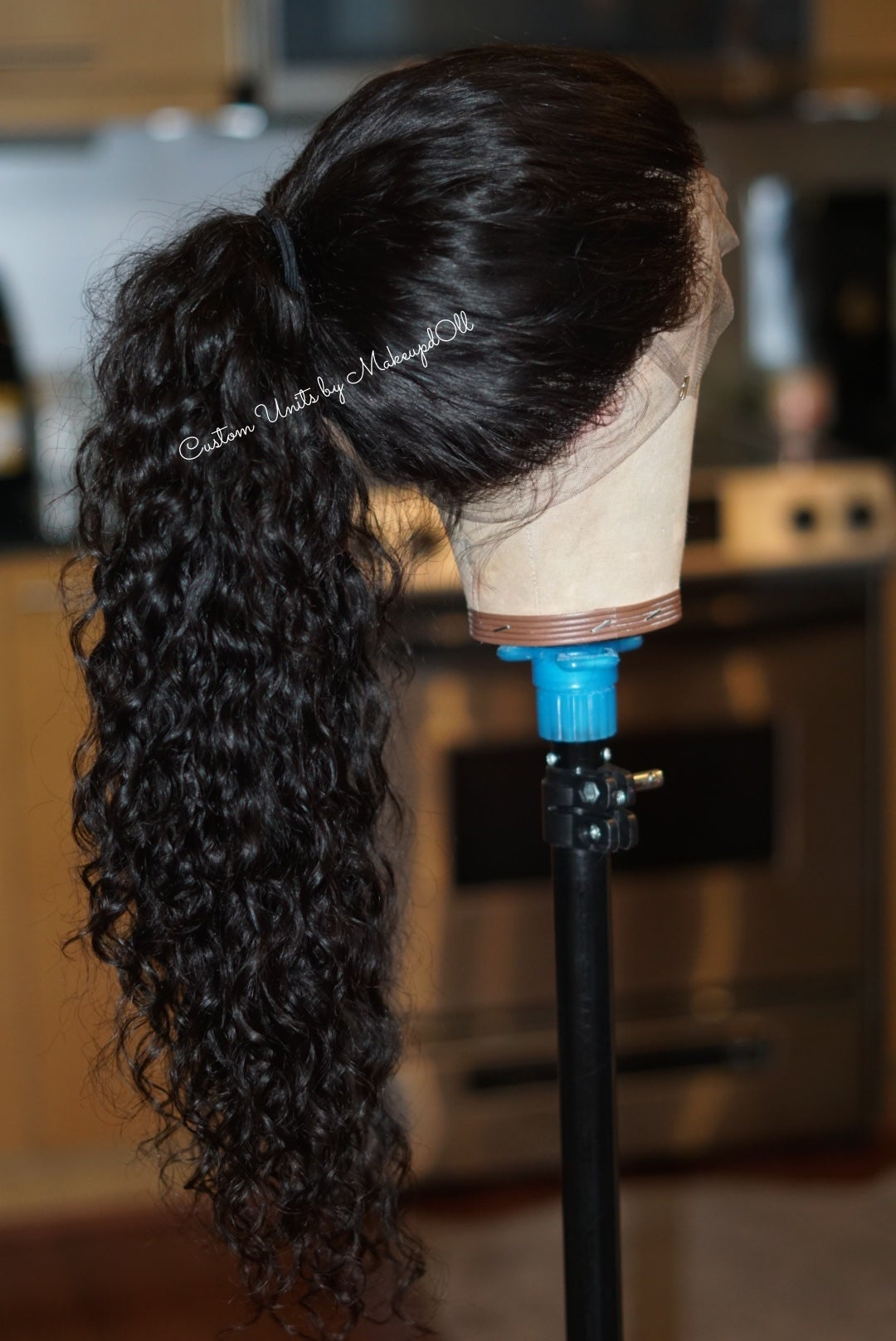 "Image of Cambodian Natural Wave 24"" Custom 360 Frontal Wig!"