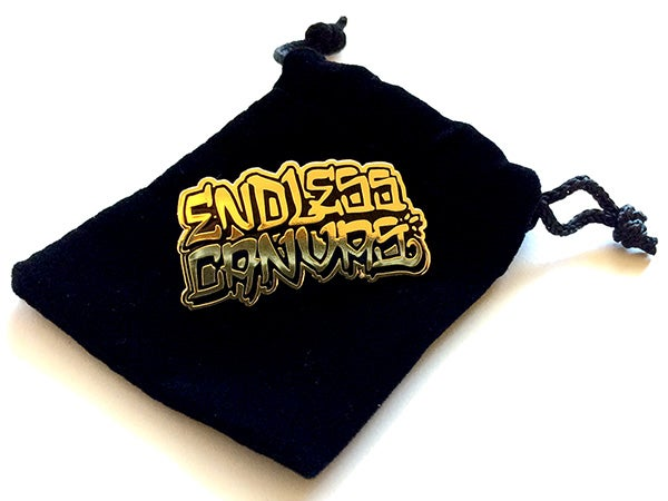 """10 Year Anniversary"" ENDLESS CANVAS - Lapel Pin"