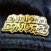 "Image of ""10 Year Anniversary"" ENDLESS CANVAS - Lapel Pin"