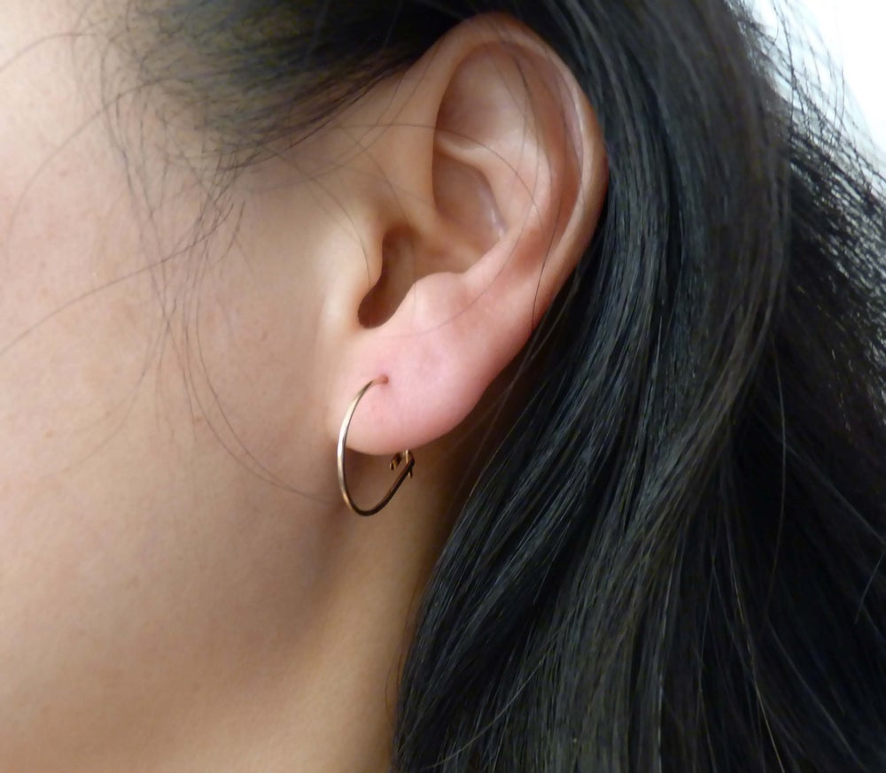 Image of Little round earrings