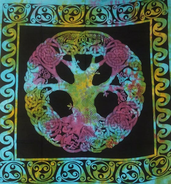 Image of Celtic Knot Tree Tapestry