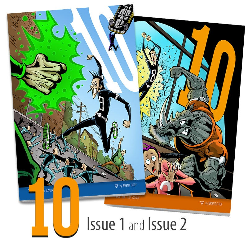 Image of 10 - issues 1 and 2