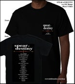 Image of SPEAR of DESTINY est.1983 Range Black T-Shirt
