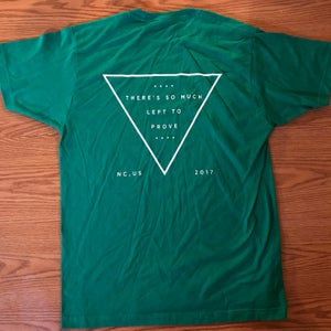 """Image of """"Left To Prove"""" T shirt (front/back)"""