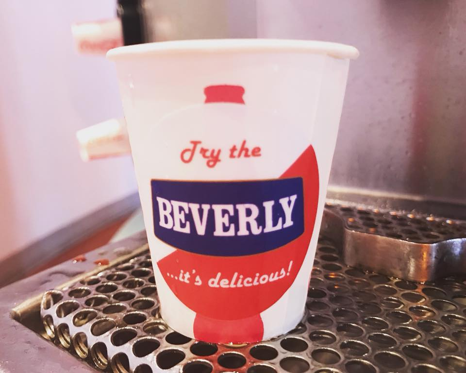 Image of Try the Beverly sticker