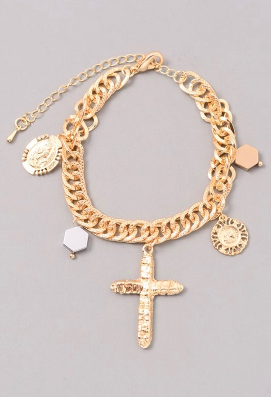 "Image of ""Crucifix"" bracelet"