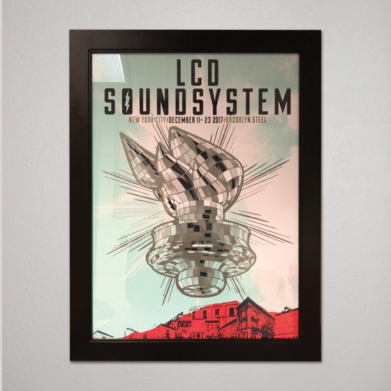 Image of LCD SOUNDSYSTEM NEW YORK RED- artist proof