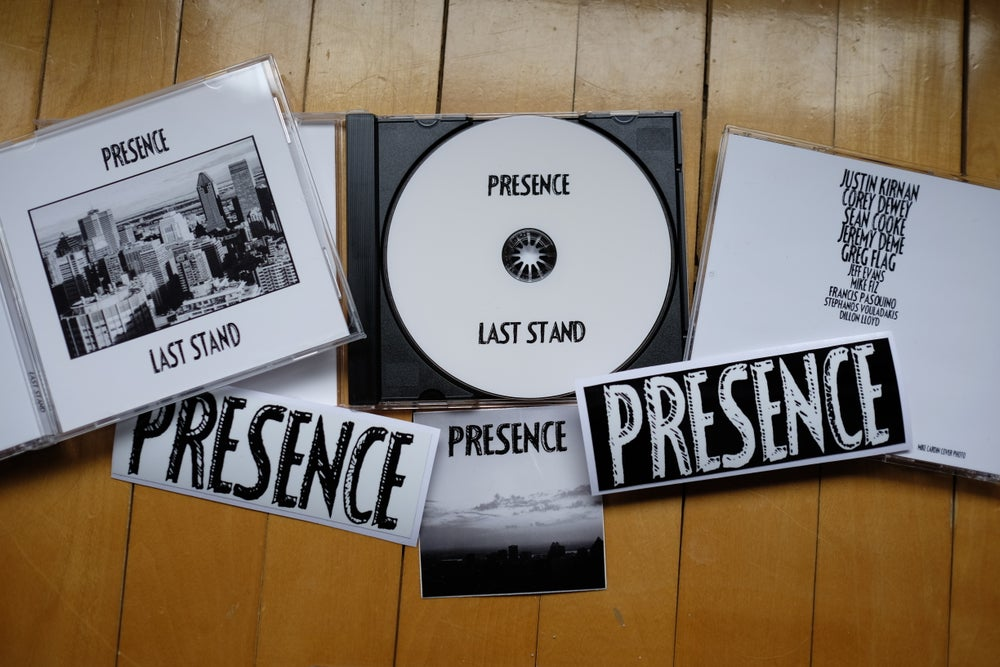 Image of PRESENCE - LAST STAND DVD