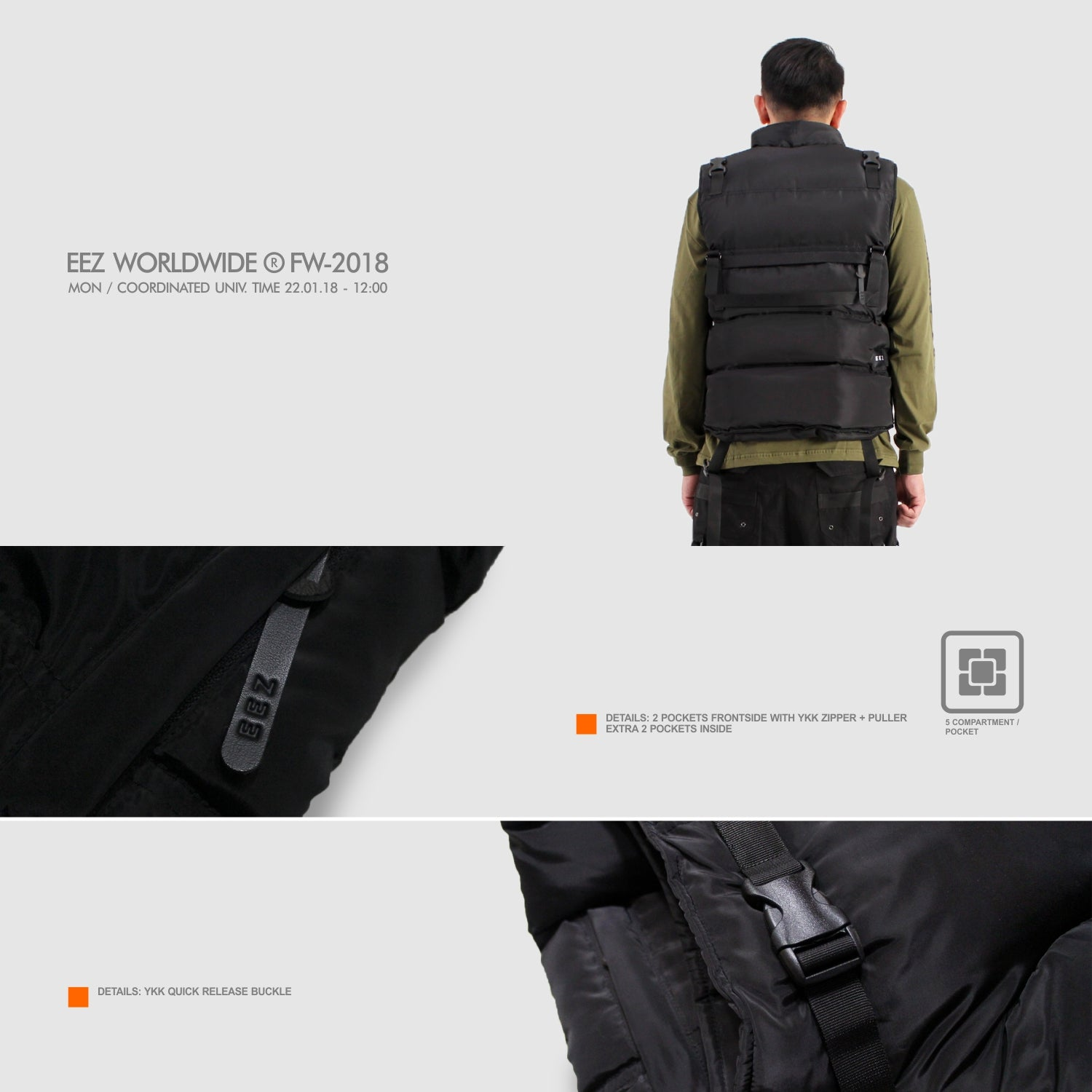 Image of Black Bag Vest Gen II