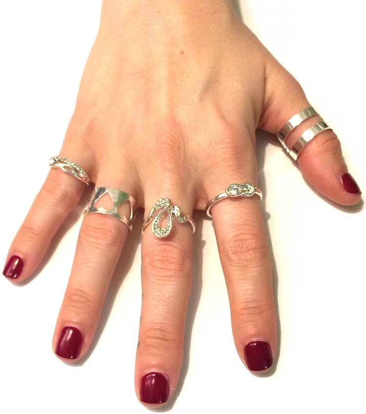 Image of SPECIAL - 5 pc Trendy Ring Set