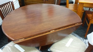 Image of VANCOUVER DROP LEAF 5PC DINING SUITE