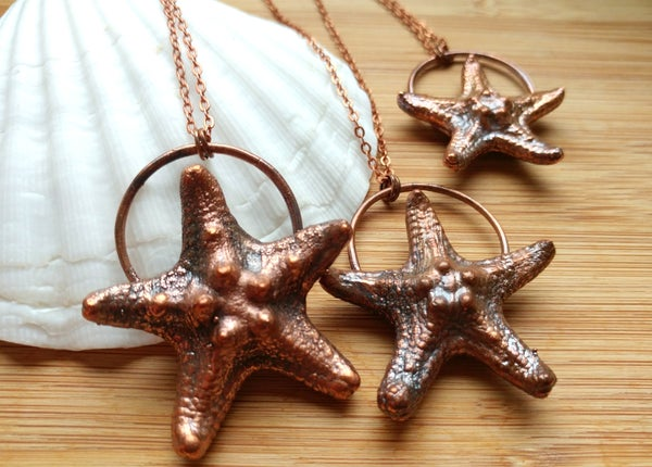 Image of Natural Starfish Pendant