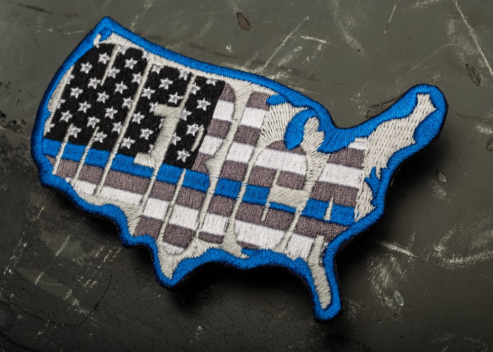 Image of 'MERICA Flag TBL Patch