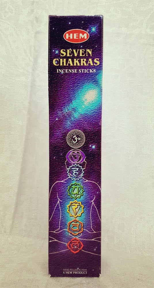 Image of Seven Chakras Incense Sticks
