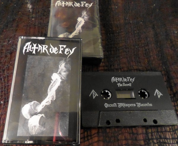 Image of Altar De Fey cassette single