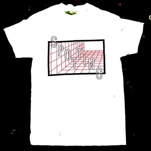 Image of White Grid T-Shirt