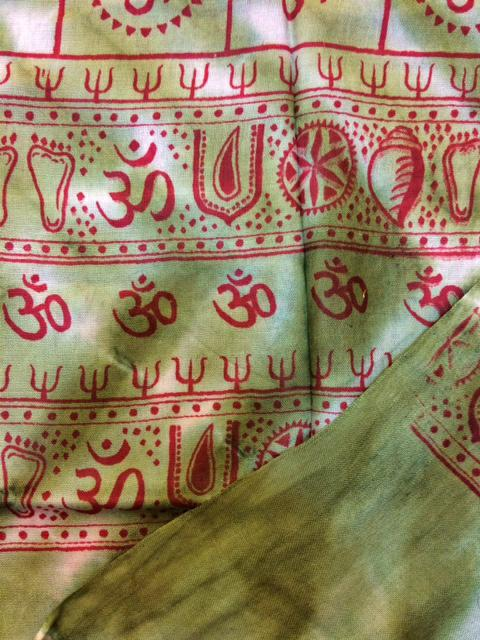 Image of Om Scarves Red Prints
