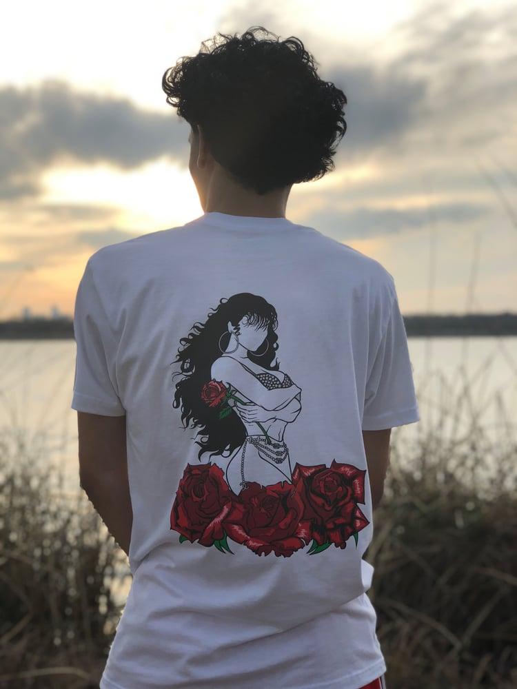 Image of Selena in BLACK Shirt