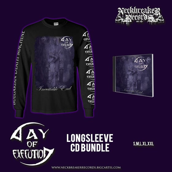 Image of NBR 007 Day of Execution - Inevitable End CD + Longsleeve  Bundle Preorder