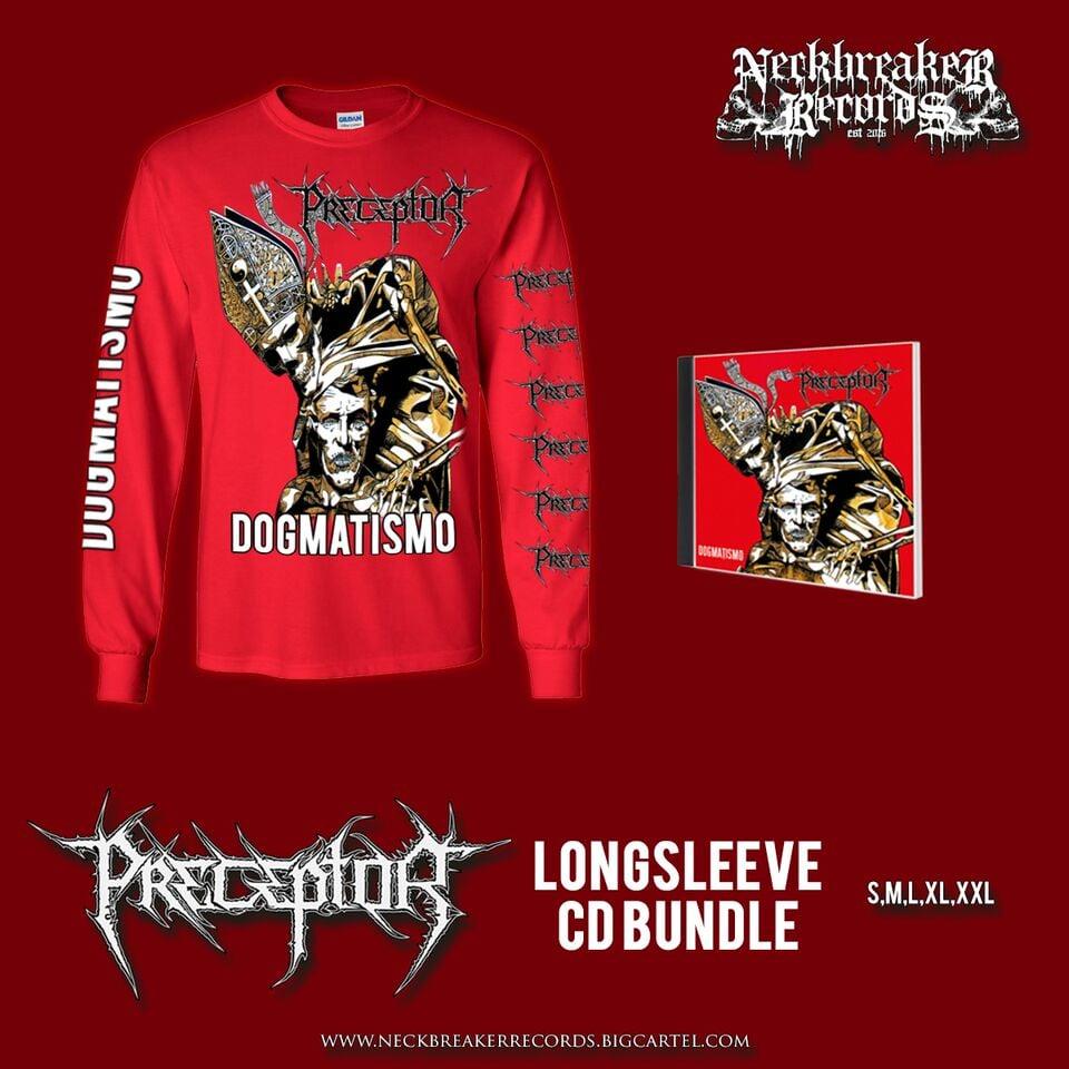 Image of NBR 006 Preceptor - Dogmatismo CD + Longsleeve Bundle