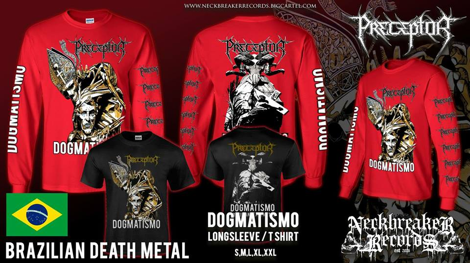 Image of NBR 006 Preceptor - Dogmatismo CD + Shirt Bundle Preorder