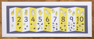 Image of Numbers Screen Print