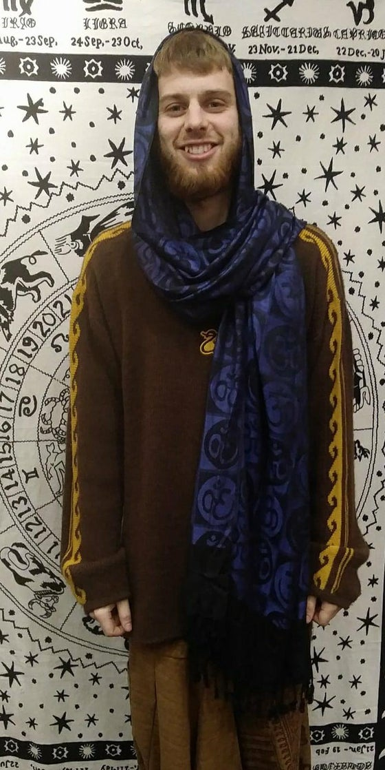 Image of Circled OM Scarves
