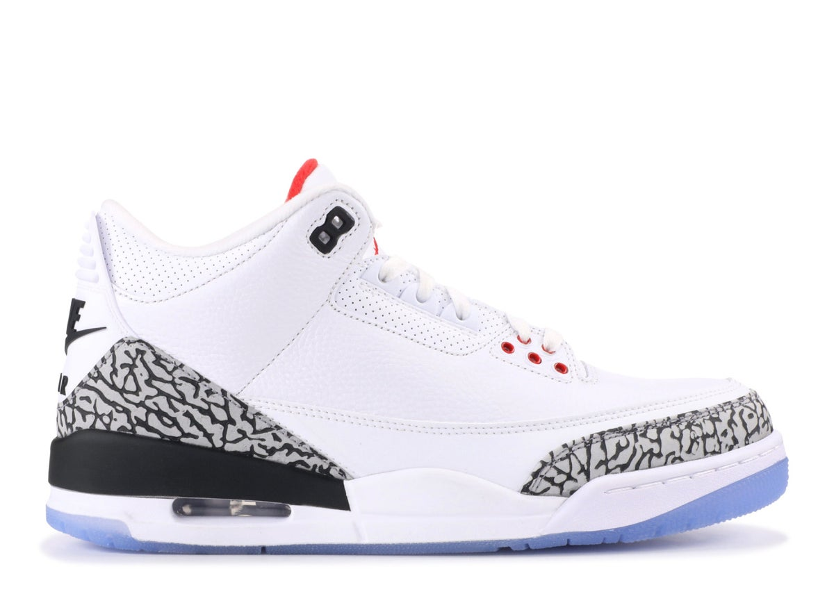 "Image of JORDAN 3 RETRO NRG ""FREE THROW LINE"""
