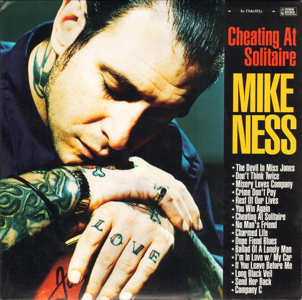 Image of Mike Ness - Cheating at Solitaire 2xLP