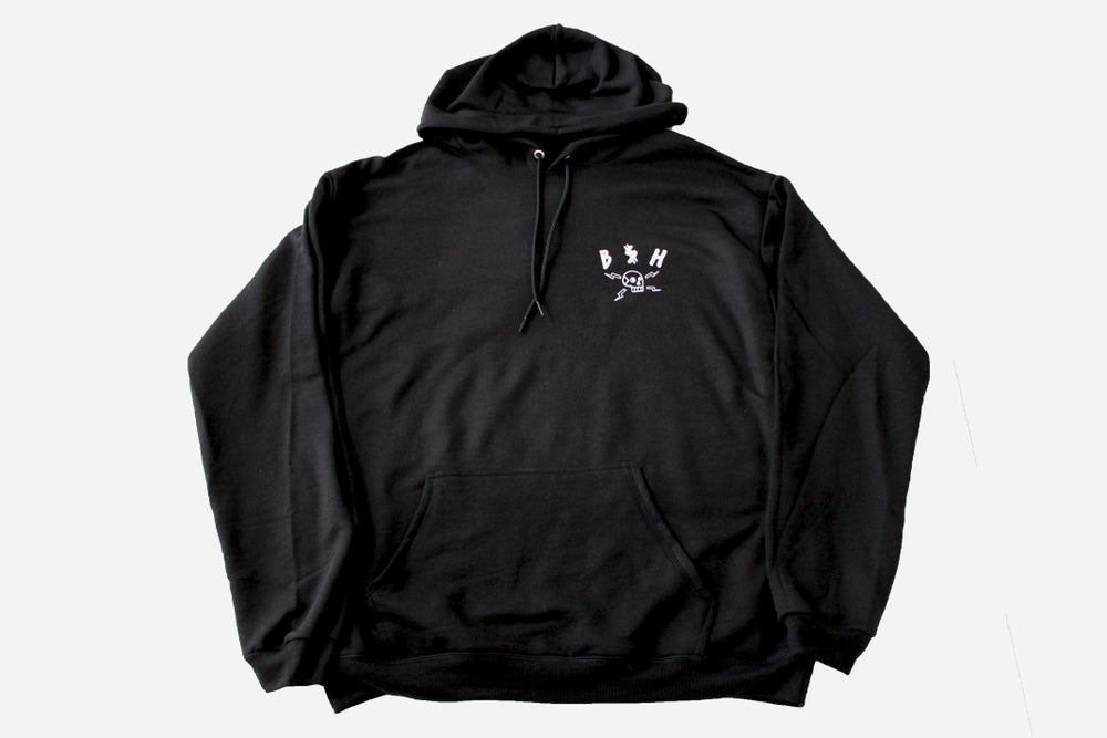 Image of B$H SOCIAL SUICIDE LIGHT PULLOVER HOODIE