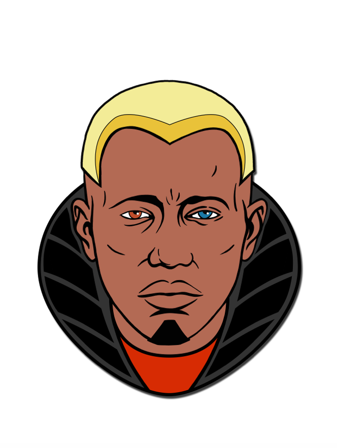 Image of Simon Phoenix by Doaly (Sticker Only)
